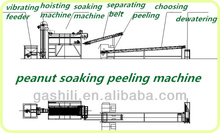 Factory price 400kg/h Peanut soaking peeling making line