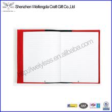 professionelle heißer verkauf handarbeit leder gebunden tagesordnung notebook