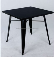 Restaurant furniture type and commercial furniture antique metal table