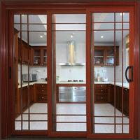 aluminum pantry sliding doors