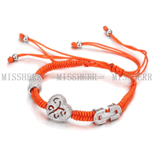Most Profitable Products Heart Shape Medical Alert Charm Bracelet Helix Snake Rope Bracelet Stainless Steel Bracelet