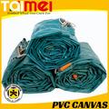 550 gsm ~ 1000 gsm impermeable lona de PVC rollo para cubierta del carro y hormigón que cubre