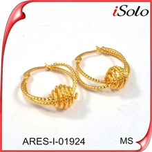 Wholesale gold jewellery pictures of gold earrings fashion jewelry earring