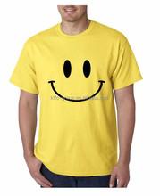 Big Smiley Face Mens T-shirt