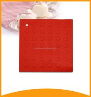 non-slip tableware heat resistant silicone pad for hot pot