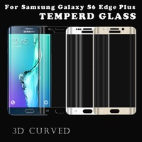 Newest 0.2mm Ultra Clear 9H Anti Shock Tempered glass screen protector for Samsung galaxy s6 edge plus
