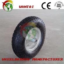 Fabricante 3.50-8 wheelbarow especial de goma de la rueda