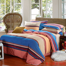 China manufature one side brushed polyester microfiber/ bed sheet / printed fabric