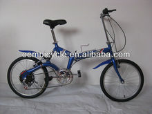 Cheap different Color 20inch attractive Folding Bicycle