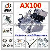 Motocicleta piezas del motor AX100