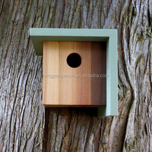 custom color painted wooden bird house high quality best price wooden bird house 2015 Christmas gift wooden bird house