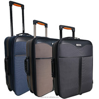 Factory Hot Sale Cheap Polyester Outside Trolley Luggage