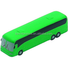 promotional custom pu bus stress toy