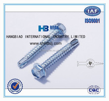 Hardened, Hex Washer Head Self Drilling Screws, Order From China Direct