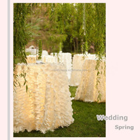 Round wedding table cloth , banquet table cloth for wholesale