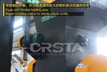 Factory manufacture PVC/PET/ABS/HDPE/HIPS PET Bottles Grinding Machine