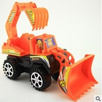 Orange Color Universal Excavator Car Kids Toys For Children Builder