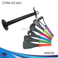 6 pcs PP handle nylon kitchenware for cook or housewife