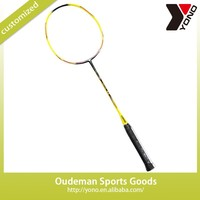 Whoelsale YONO branded YN-V-3 custom 100% full carbon fiber badminton racket best carbon graphite top brand badminton racket