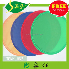 Colorful Fabric Nylon Flying disc in customization frisbee Free artwork an samples