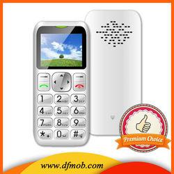 Hot Sale 1.8INCH Big Keyboard Big Font GSM GPRS/WAP Single SIM Card Quad Band MTK6261M SOS Old People Mobile Phone T06