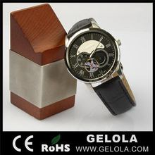 Designer Best-Selling automatic mechanical watches 2014 ,luxury wooden watch box for man ,automatic winding watch