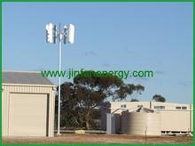 pequeño generador eólico de eje vertical