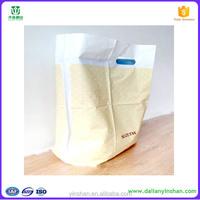 Free samples plastic raw material for plastic bag handle plastic carry bag design
