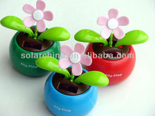 popular solar flip flop apple flowers in the car