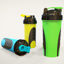plastic sport protein shake mixer shaker bottle/protein shaker cup