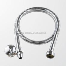 TM-SH-S018 Stainless steel double clip with EPDM inner tube toilet bidet flexible shower hose