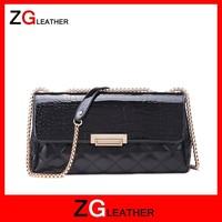 clutch bag metal frame tote handbags leather shoulder holster