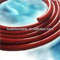 Awg 0/8 awg/12 awg transparente superflex vaina de cobre del conductor del coche de refuerzo de cable