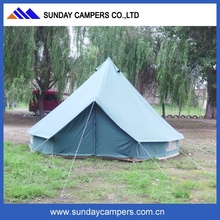 Stylish new updated camping equipment canvas bell tent for wholesale