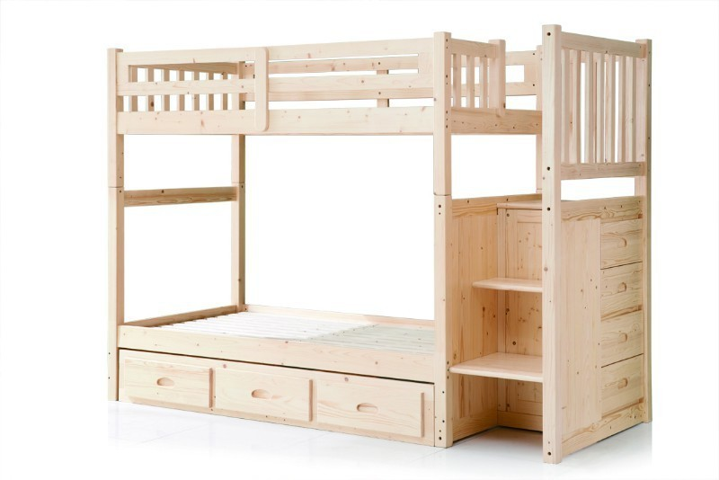 Hot Sale Children Bunk Bed With Drawer Stairs Bedroom