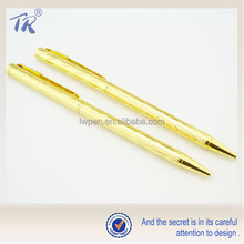 Alibaba China Supplier Luxury Upscale Metal Pen Gold Ball Pen