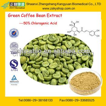 puro caffè verde estratto di fagiolo con certificazione gmp