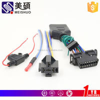 Meishuo oem and odm wire harness and cable assembly for motorcycle auto computer