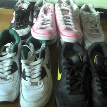 Japan assortments used shoes from Japan
