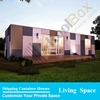 prefabricated house container 40ft luxury container house price,low cost prefab shipping container house for sale