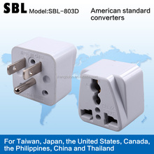 The gauge transformation plug,American standard converters,Universal conversion socket