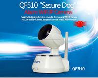QF510 Wifi Home Alarm Two Way Audio Video Call indoor wifi camera