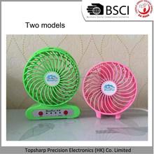 Usb Portable Electric Fan Mini Plastic Small Fan for Children