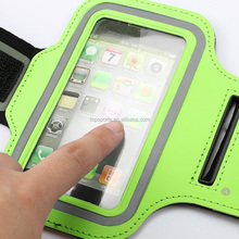 Mobile phone accessories,Popular neoprene sport armband jogging case phone armband for sale