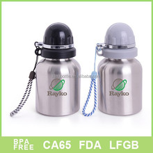 Baby stainless steel vacuum flask little children water sports bottle