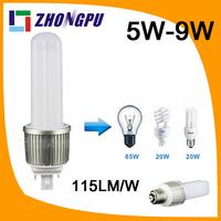 led pl lamp g24q-3 base 9W E27 G24 G23 4pin 360dgree 82Ra SMD2835 990lm Retrofit White (Replace 35W CFL)