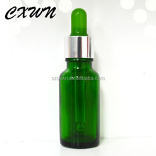 20ml mass stock!! clear square glass e-liquid bottle essential oil cosmetic/olive oil bottle with dropper cap