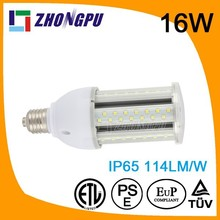Waterproof 12V solar E26 LED Bulb 15W LED Corn Light E27