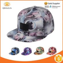 Baseball Cap Snapback Galaxy Print Sky Stars Tie Dye Hat Camp Adjustable 5 panel hat