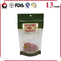 food packaging laminated zip lock plastic packaging bag